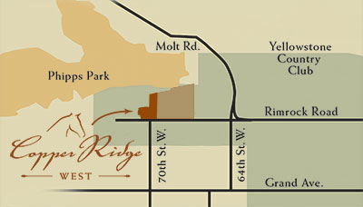 Copper Ridge West - Vicinity Map