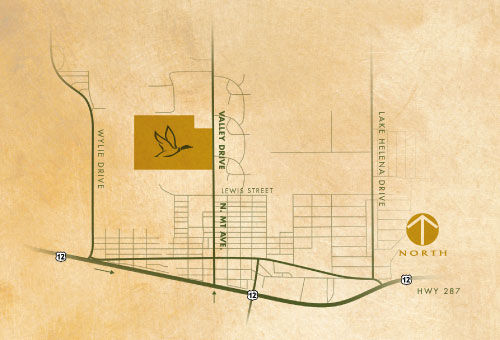 Highland Meadows - Vicinity Map